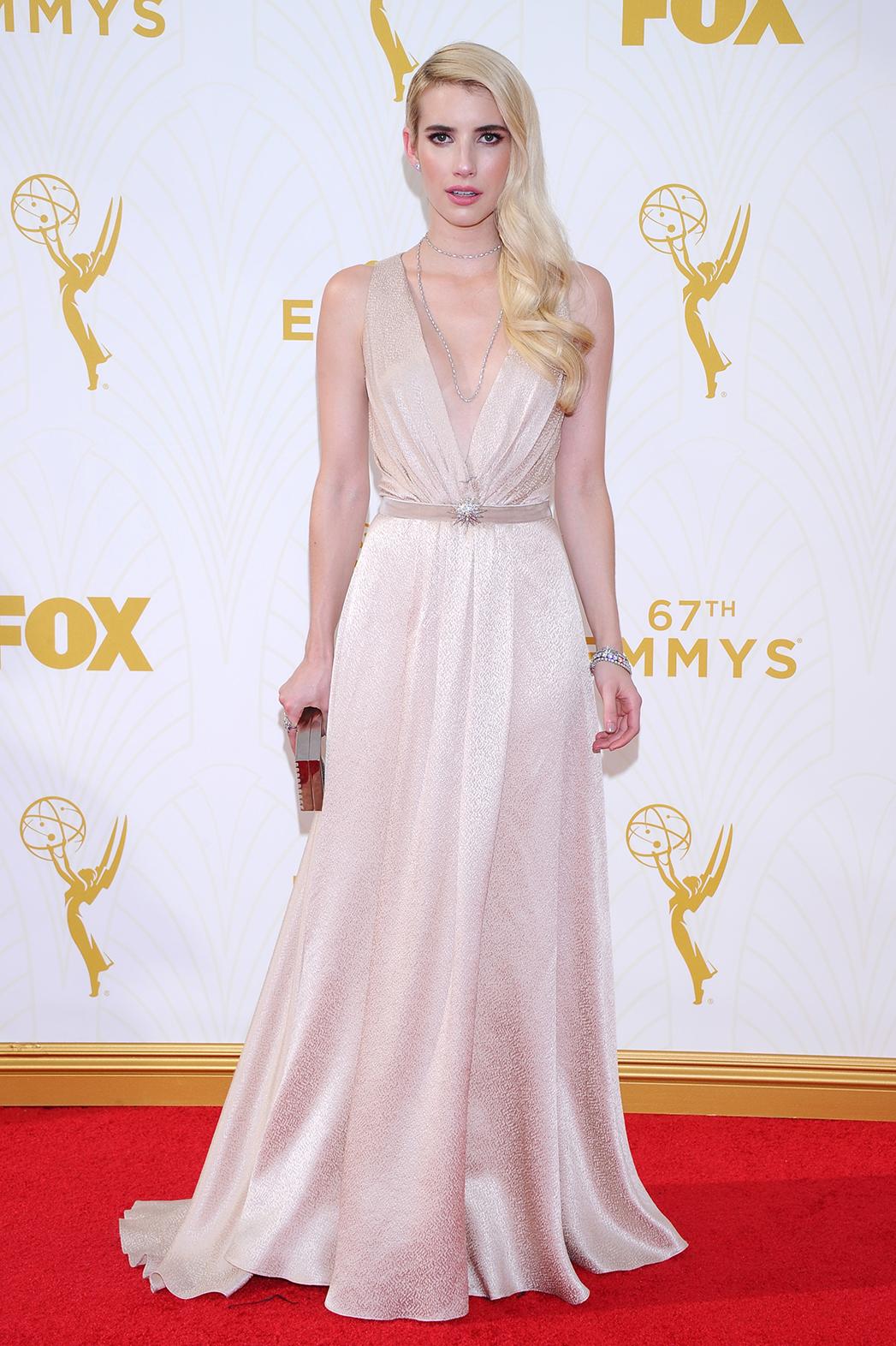 Emma Roberts Emmys - P 2015