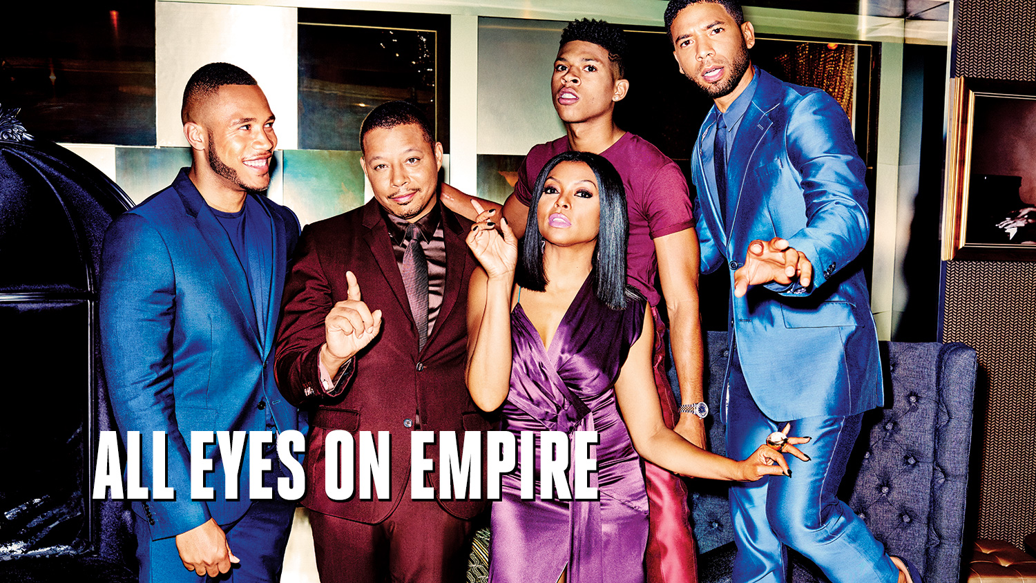 "'Empire's' ""Batshit Crazy"" Behind-the-Scenes Drama: On the Set of TV's Hottest Show"