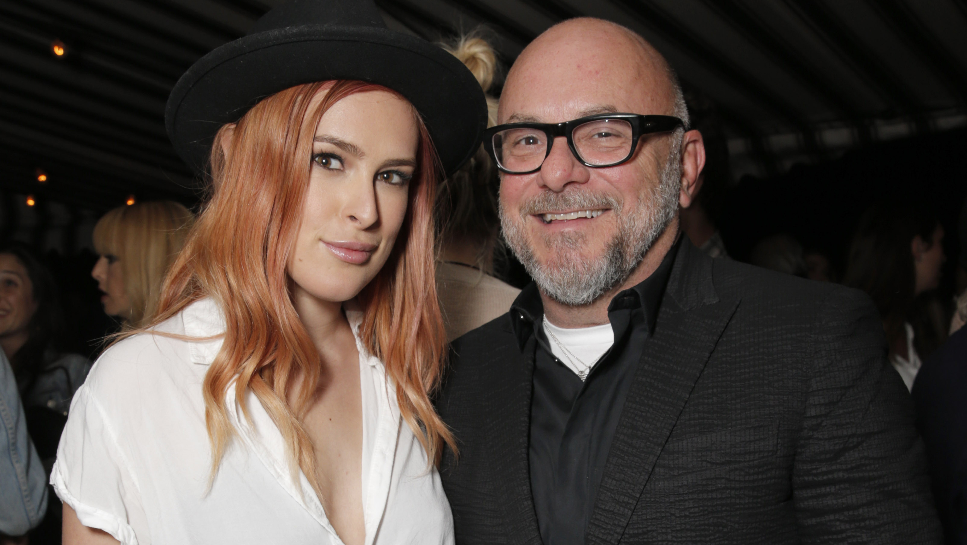Eric Buterbaugh and Rumer Willis - H 2015
