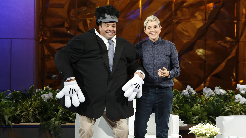 Jimmy Fallon on 'Ellen' - H 2015
