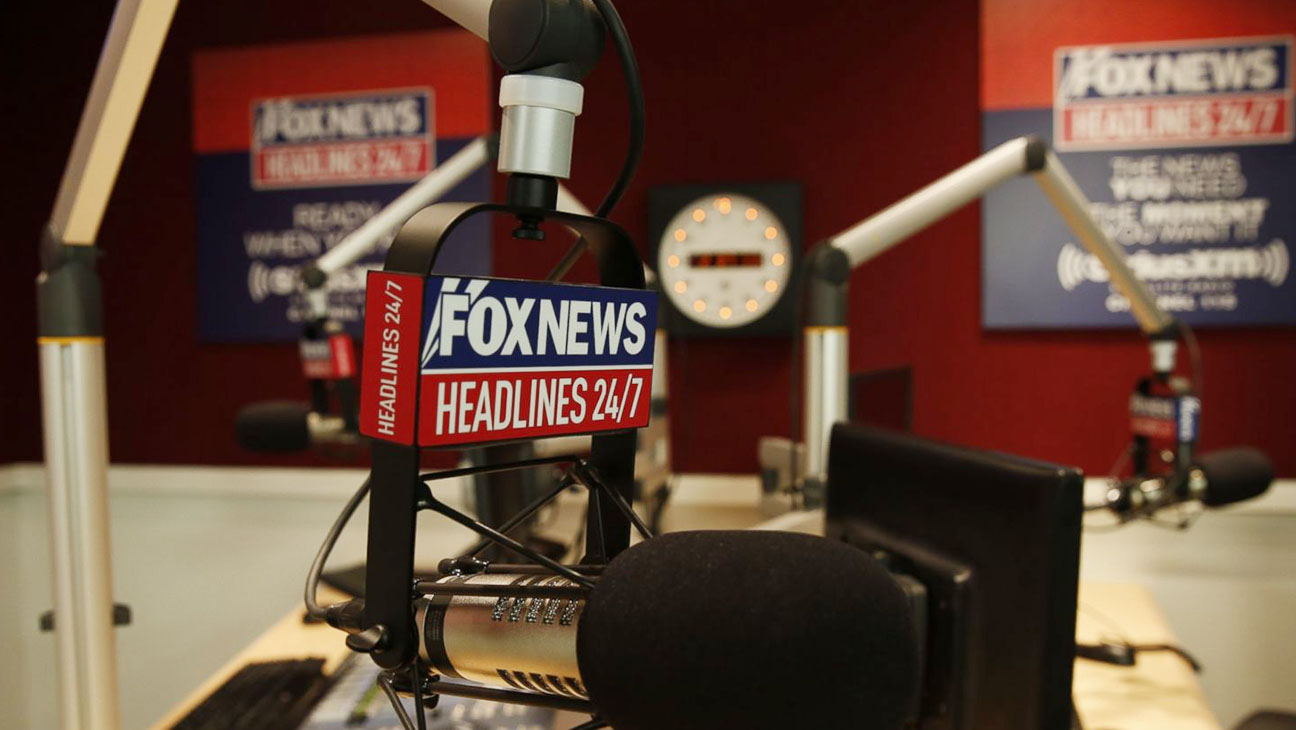 Fox News Headlines Broadcast Room - H 2015