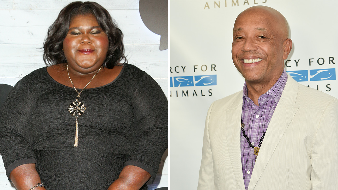 Gabourey sidibe and russell simmons - H 2015
