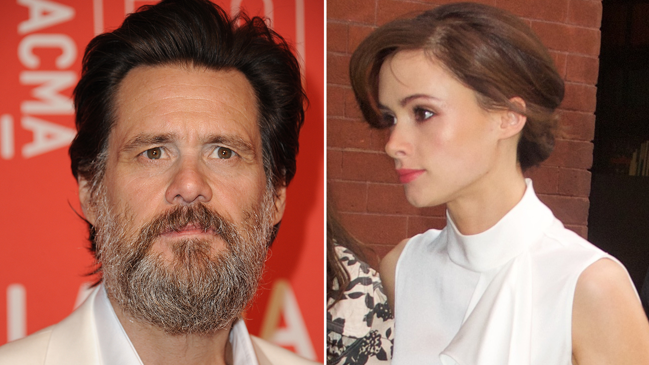 Jim Carrey and Cathriona White - H 2015