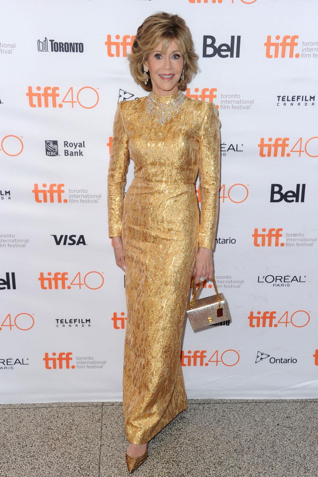 Jane Fonda YSL Couture - P 2015