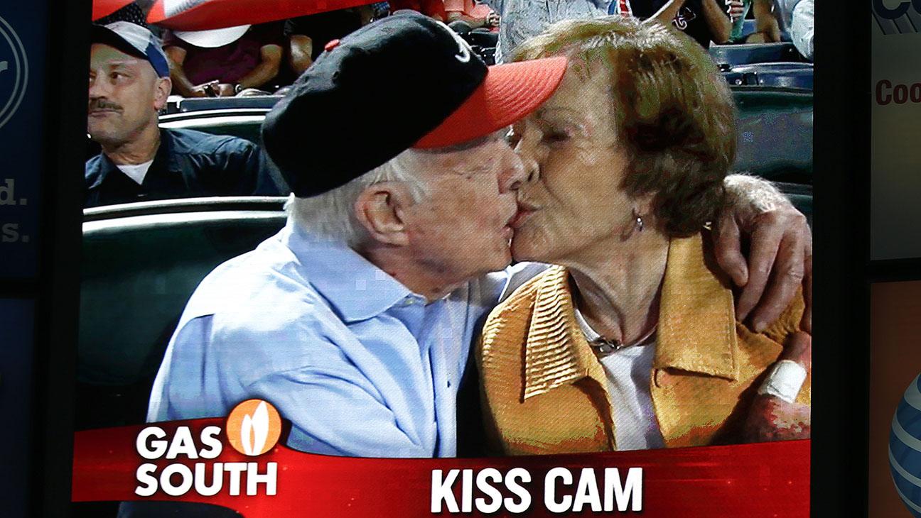 Jimmy Carter Kiss Cam - H 2015