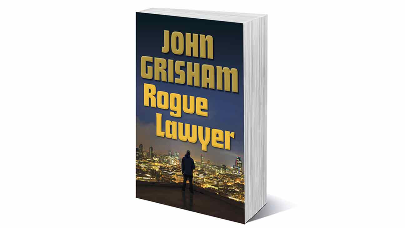 John Grisham, Rouge Lawyer Book Cover - H 2015
