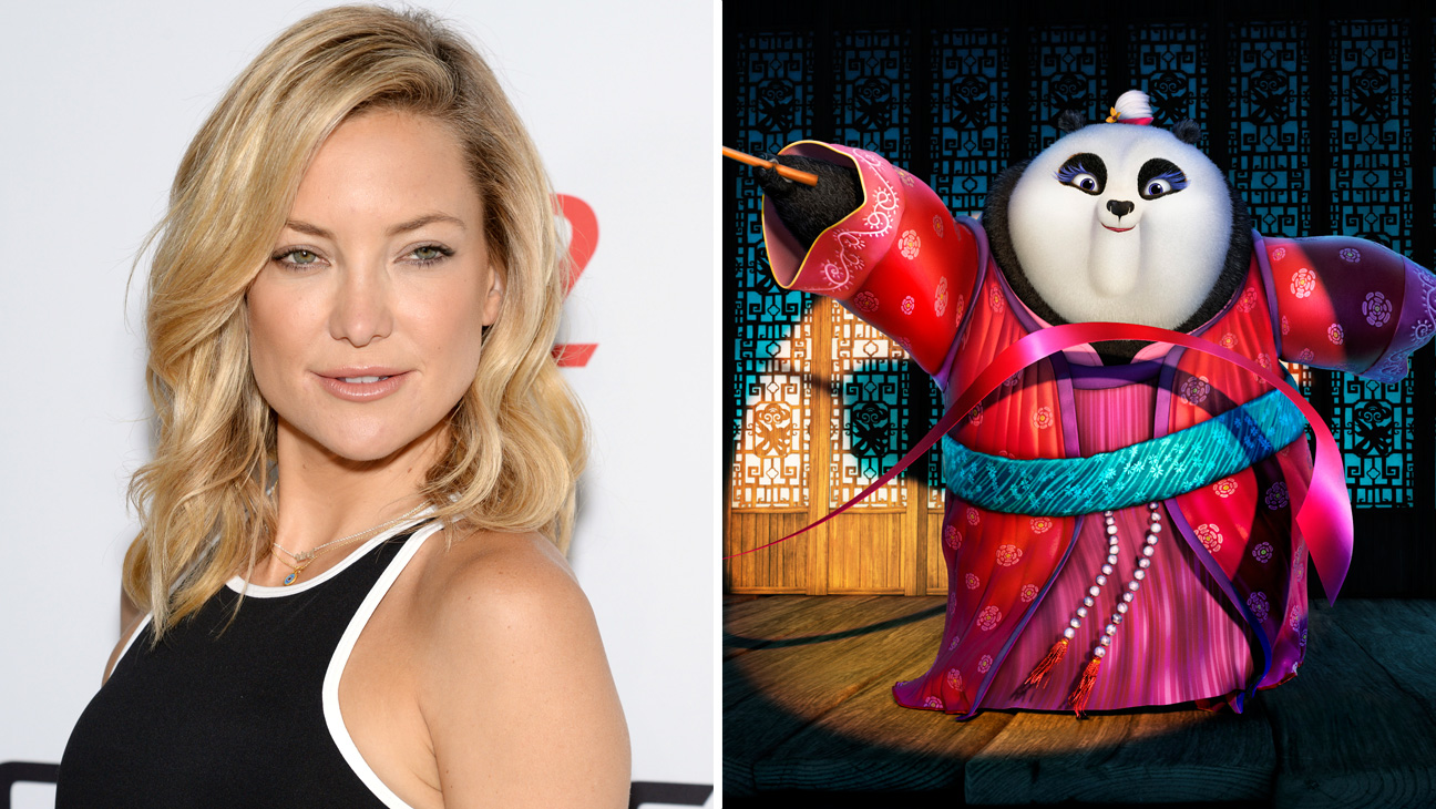 Kate Hudson and Panda - Split 2015