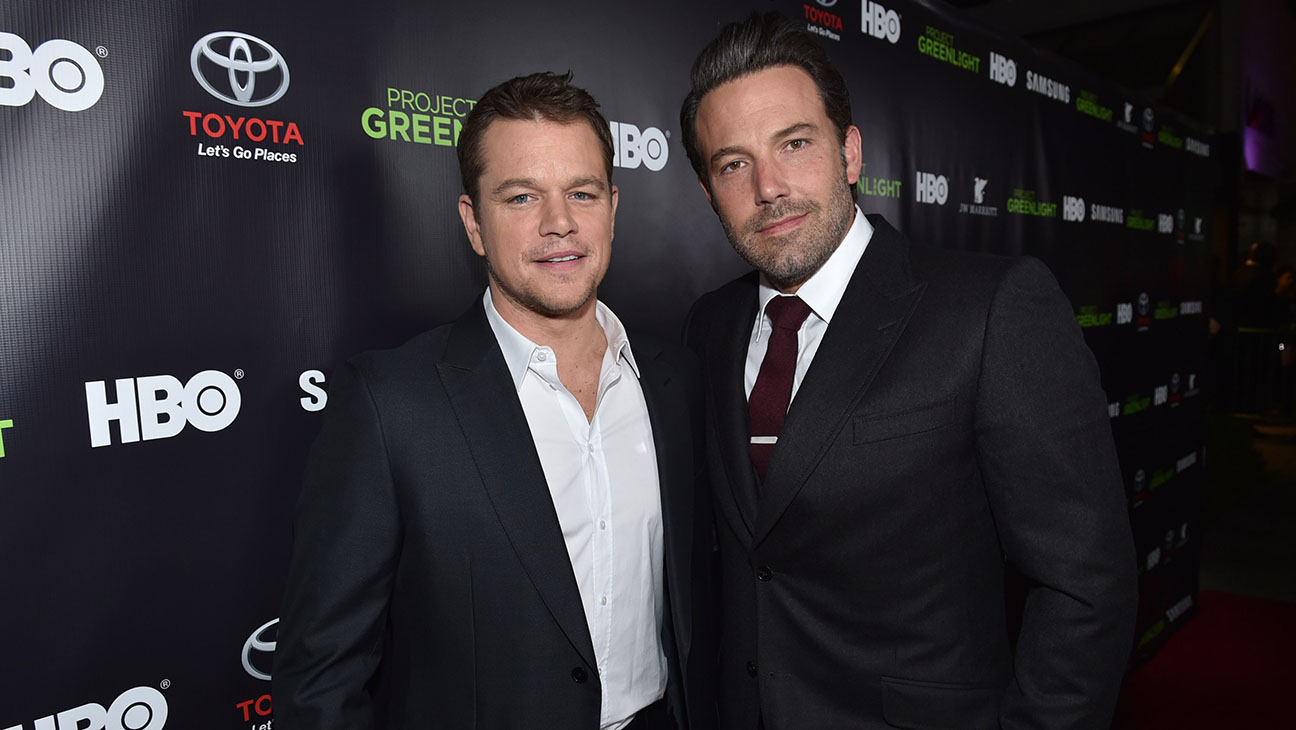 Matt Damon and Ben Affleck - H 2015
