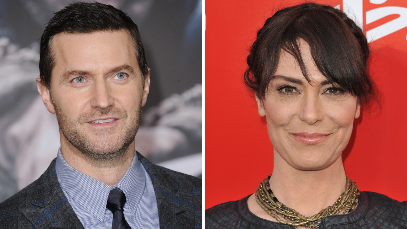 Michelle Forbes and Richard Armitage - H 2015