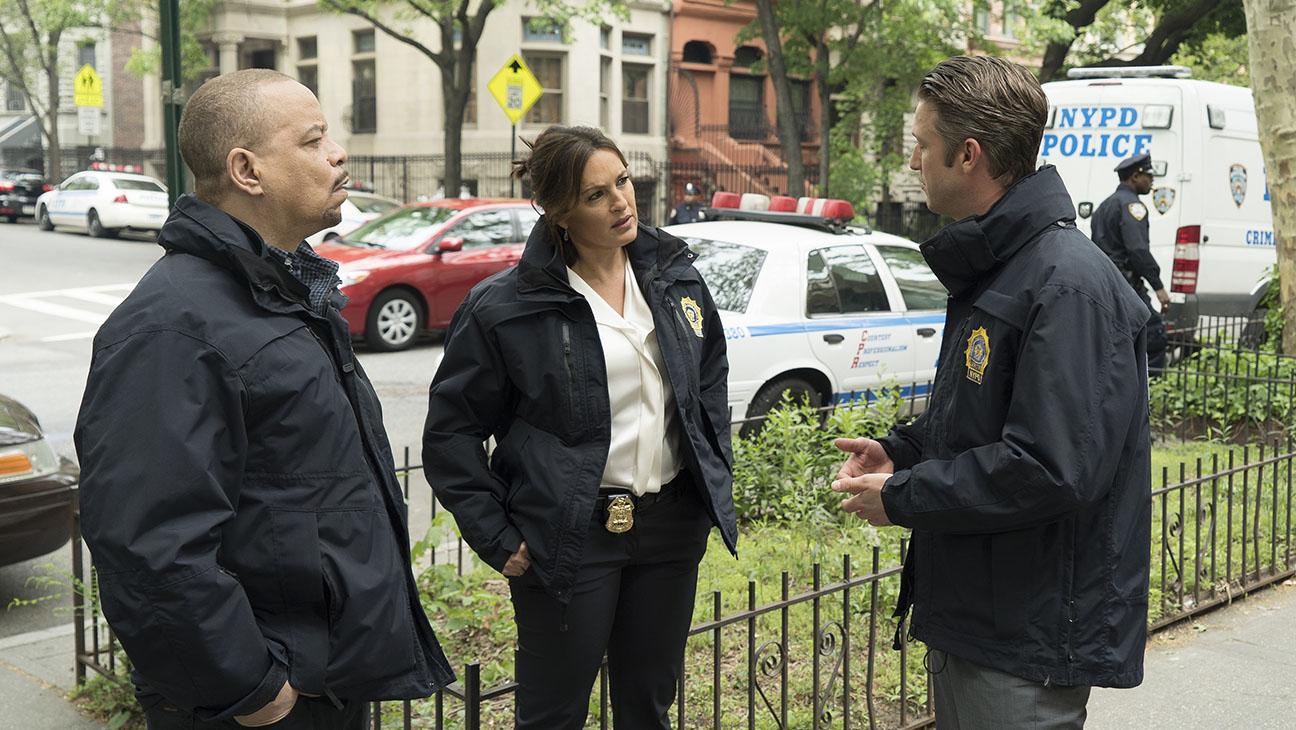 LAW & ORDER: SPECIAL VICTIMS UNIT Ice-T, Mariska Hargitay and Peter Scanavino - H 2015