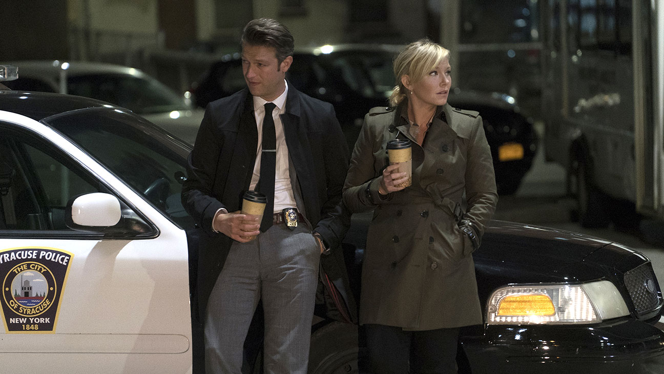 LAW & ORDER: SPECIAL VICTIMS UNIT Peter Scanavino and Kelli Giddish - H 2015
