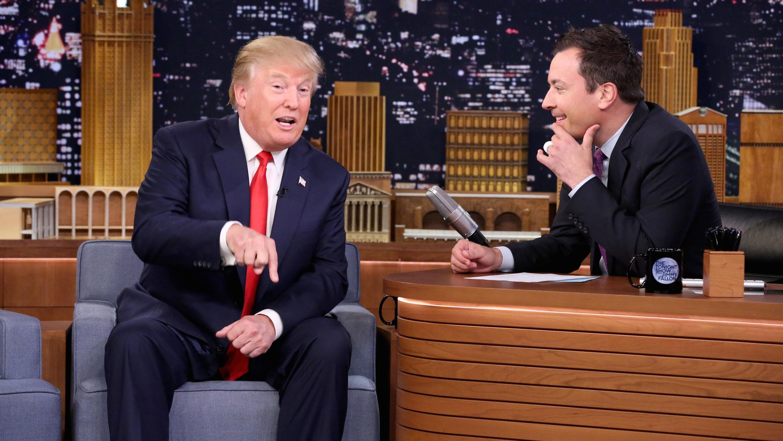 Donald Trump on 'The Tonight Show' - H 2015