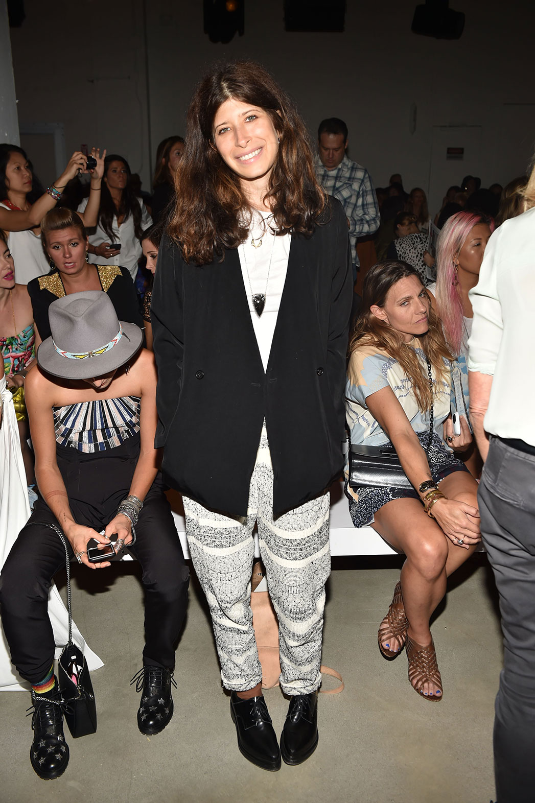 Pamela Love at NYFW - P 2015