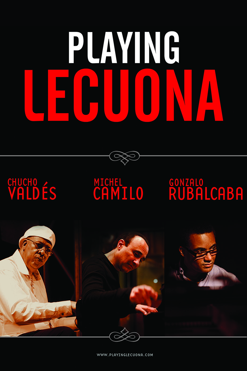 PLAYING LECUONA Key Art Poster - P 2015
