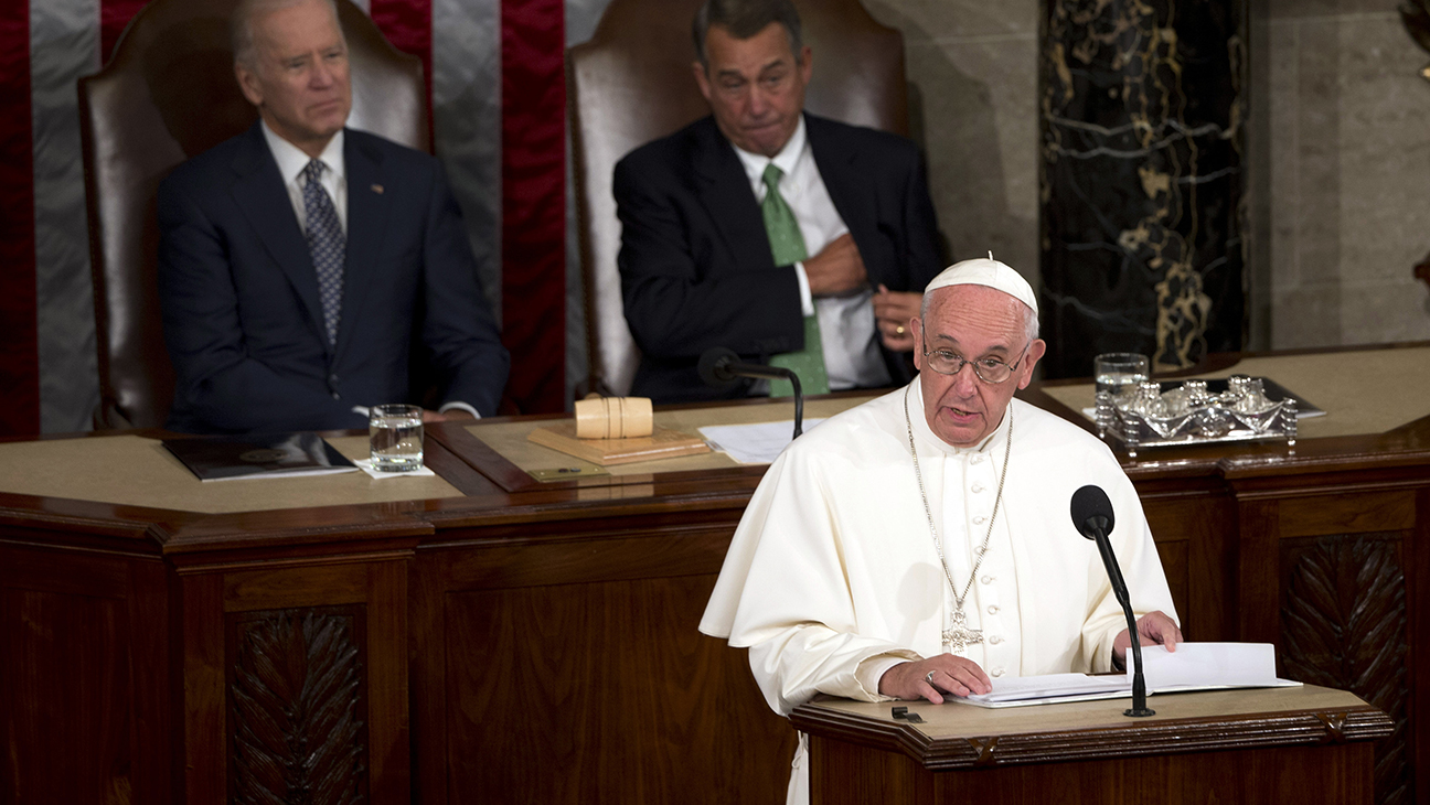 Pope Visits Congress - H 2015