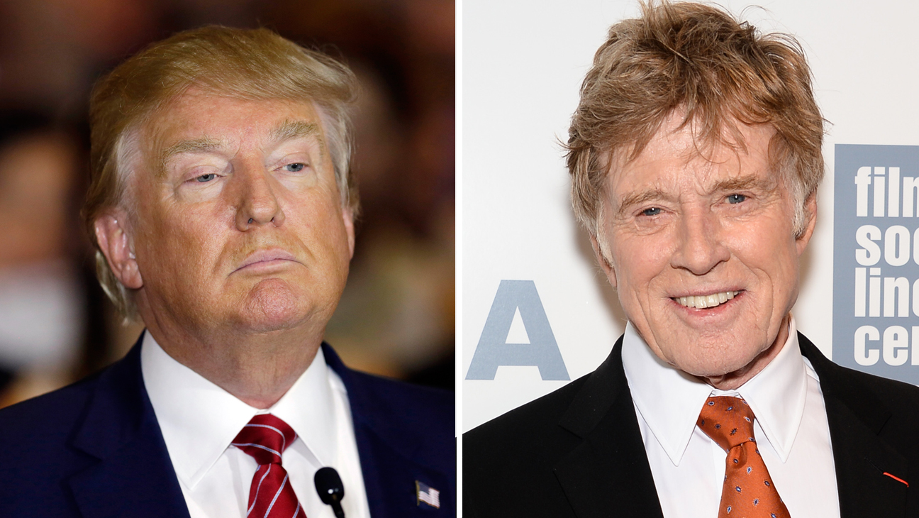 Robert Redford and Donald Trump Split - H 2015