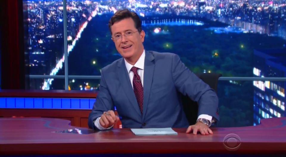 Stephen Colbert Late Show - H 2015