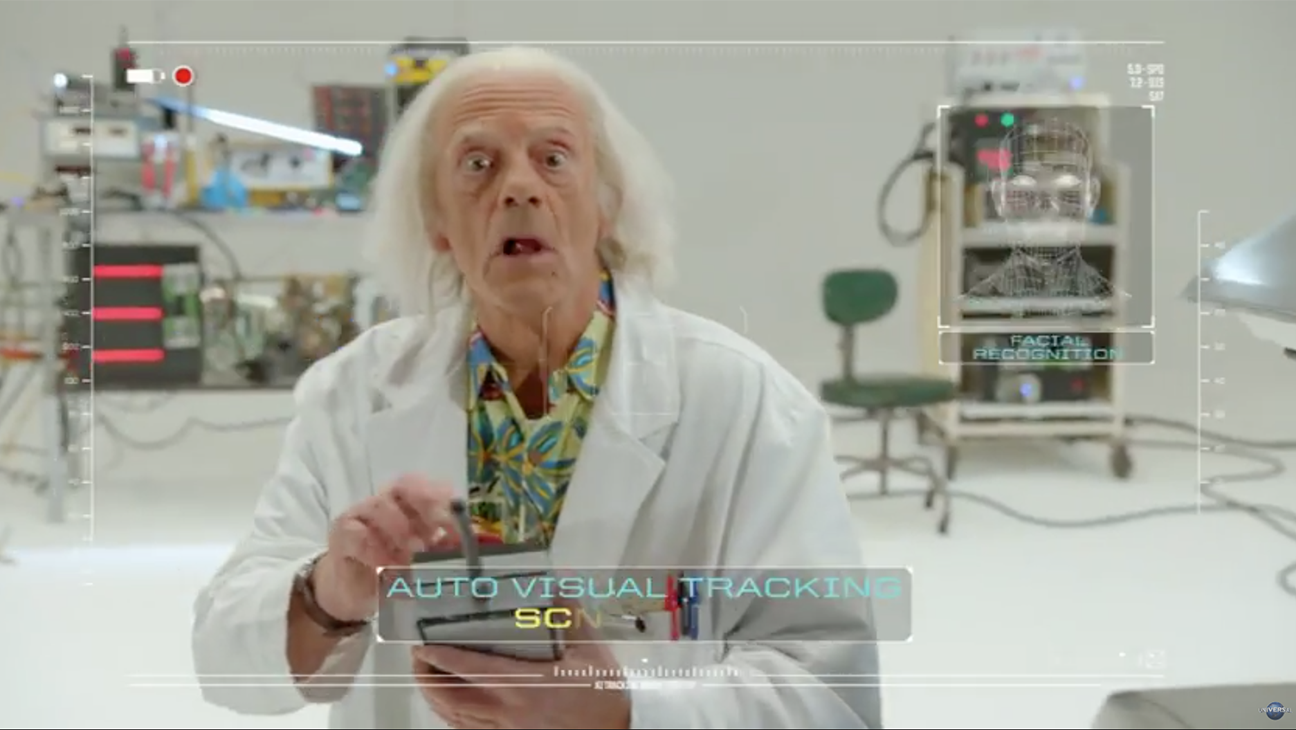 Back To the Future teaser - H 2015