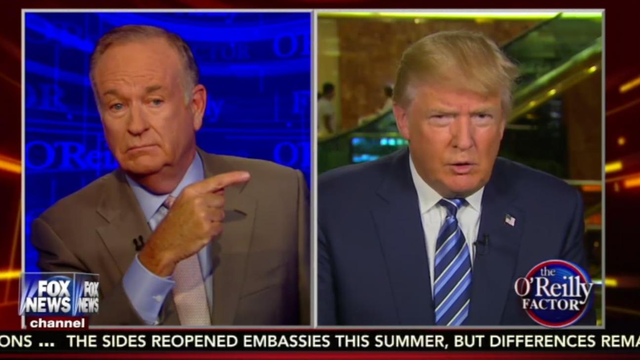 O'Reilly Factor Still - H 2015