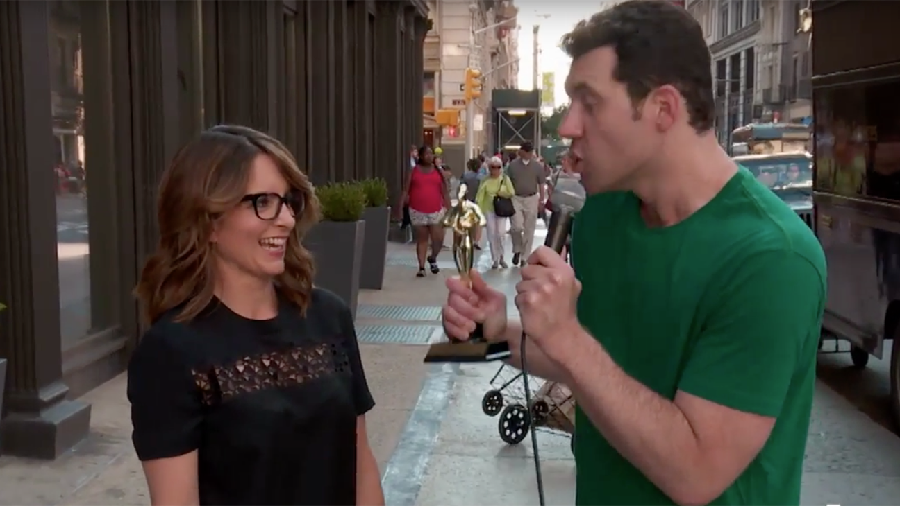 Billy on the street - Tina Fey - H 2015