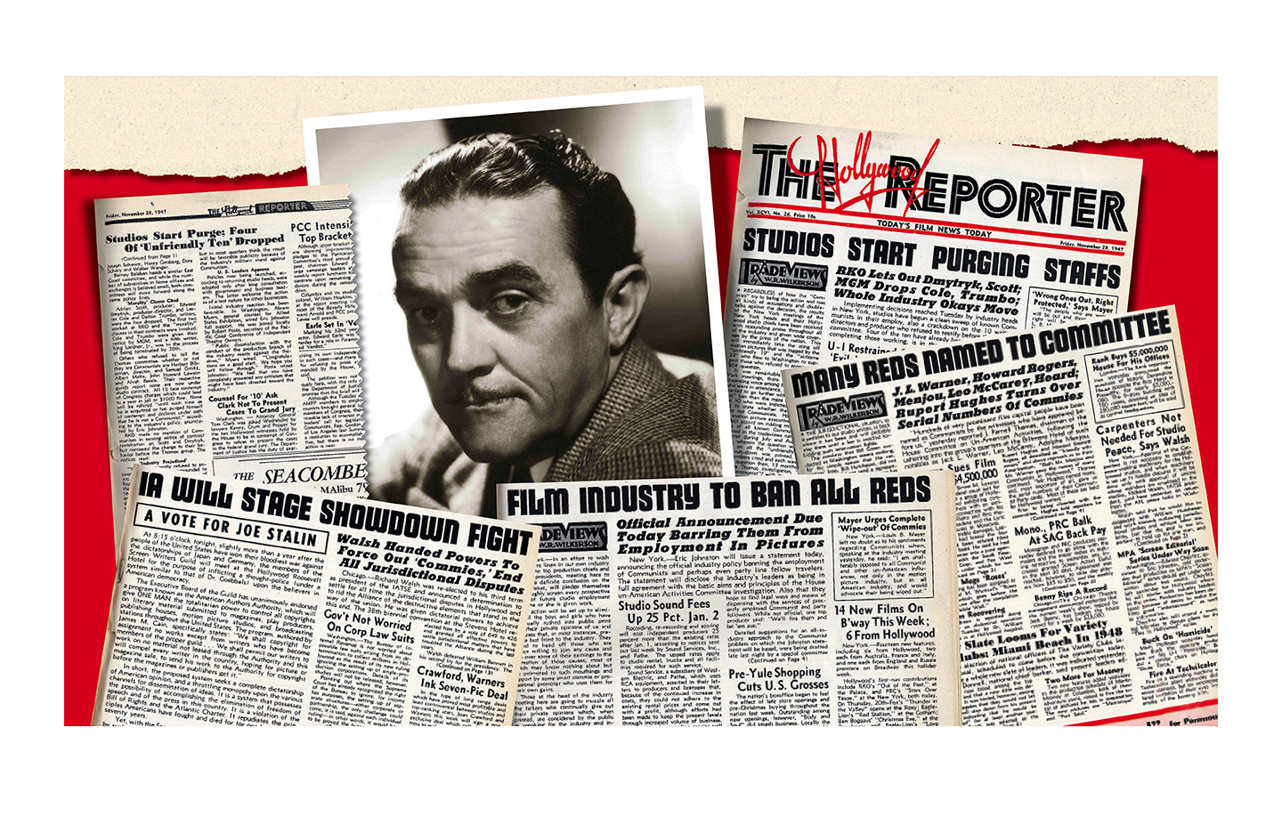 The Hollywood Reporter, After 65 Years, Addresses Role in Blacklist