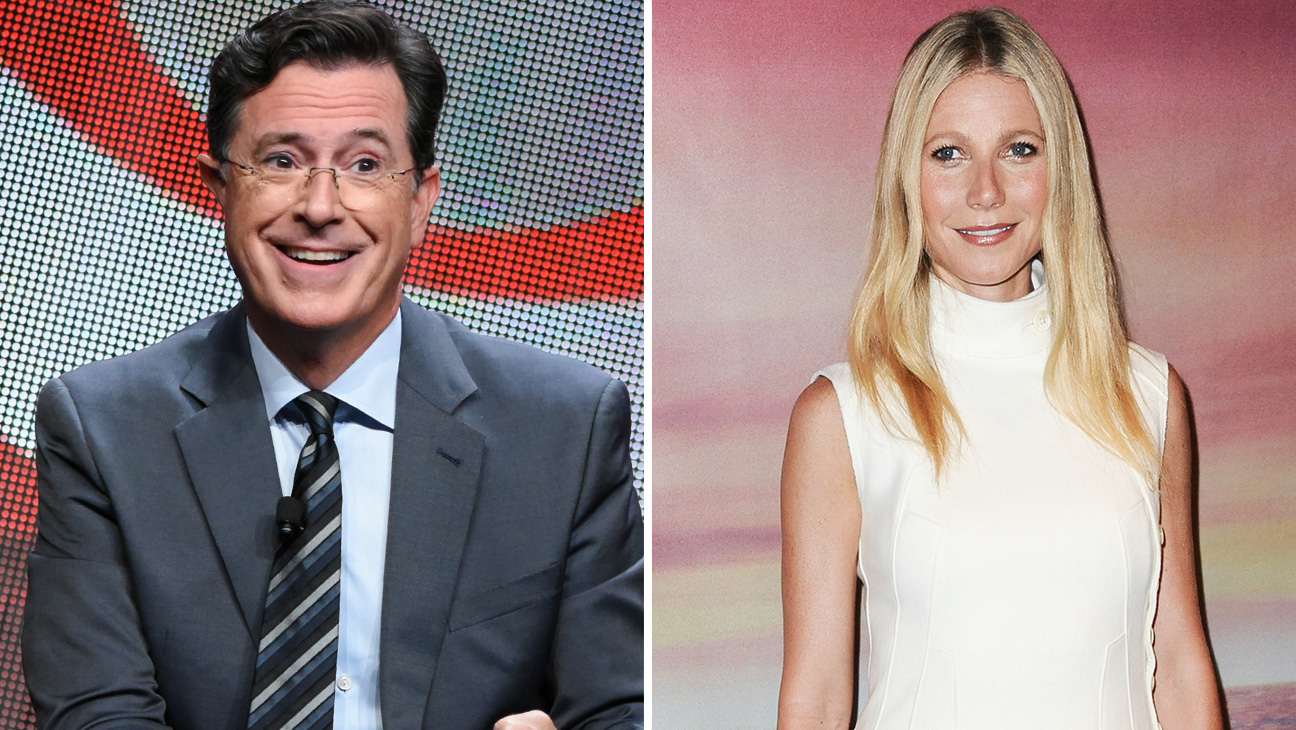 Stephen Colbert and Gwyneth Paltrow - H 2015
