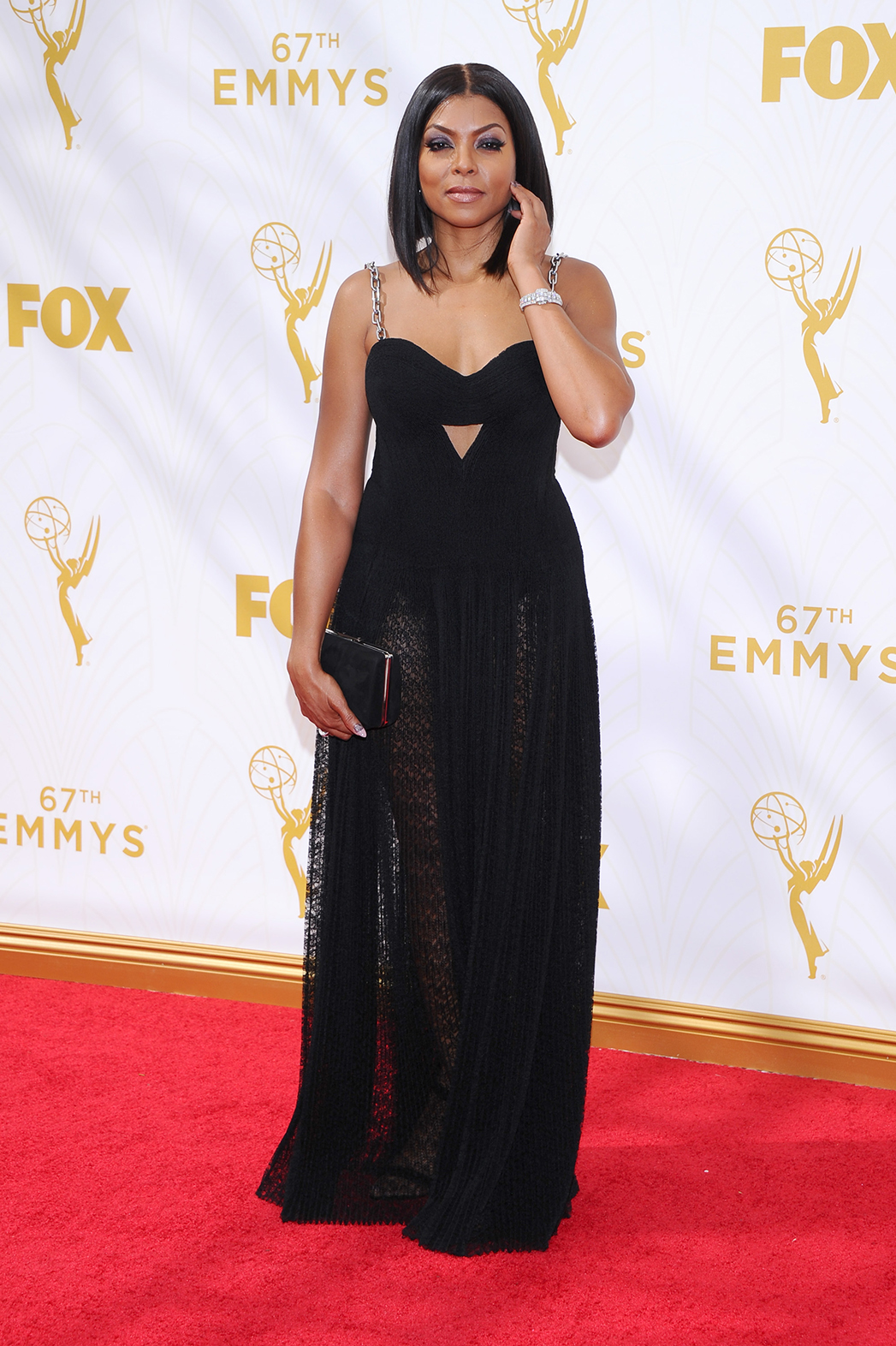 Taraji P. Henson Emmys Arrival - P 2015