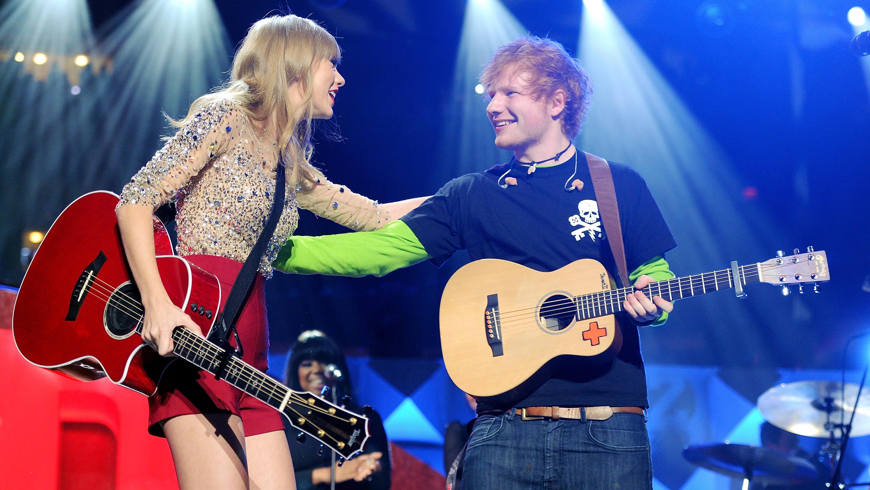 Taylor Swift and Ed Sheeran - H 2015