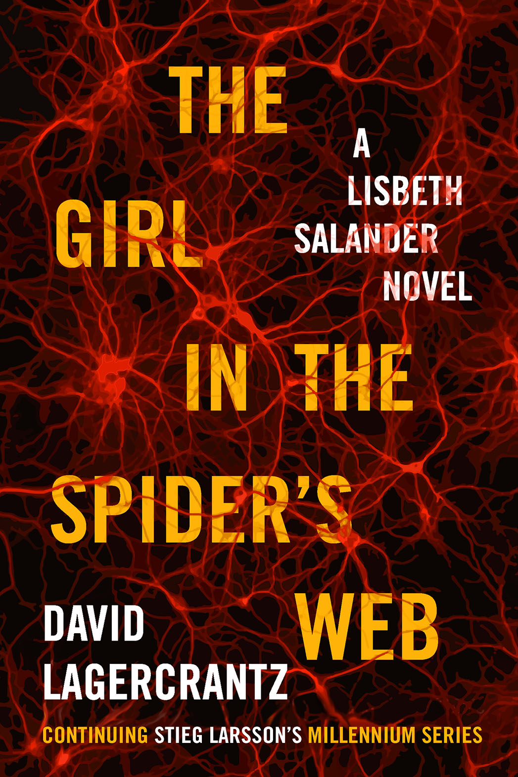 The Girl in the Spider's Web Cover - P 2015