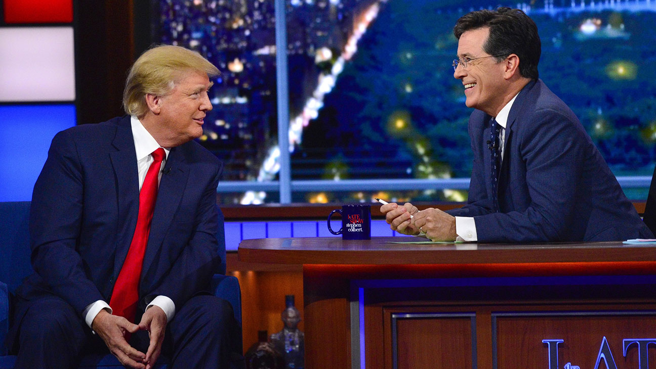 THE LATE SHOW WITH STEPHEN COLBERT - Trump - H 2015