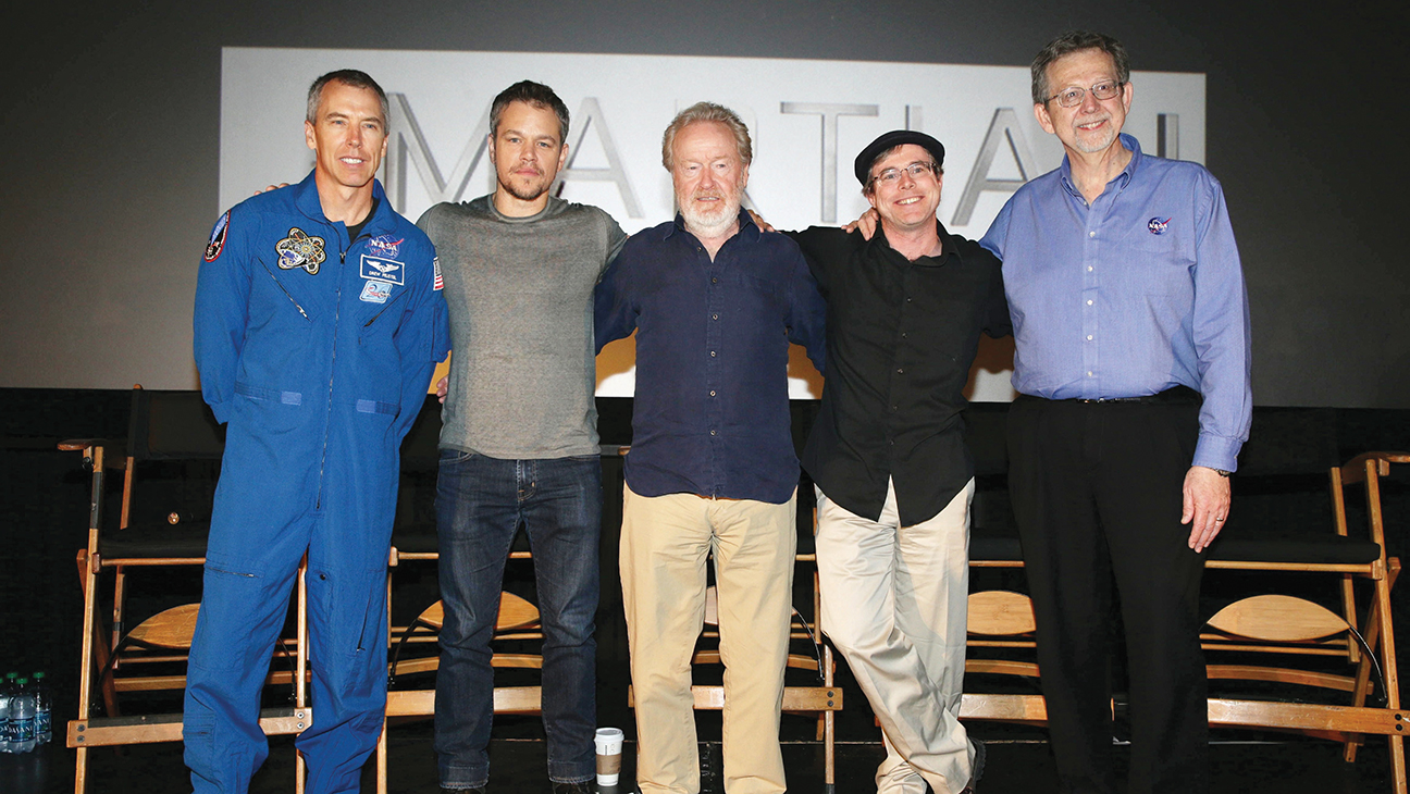 The Martian Trailer - H 2015