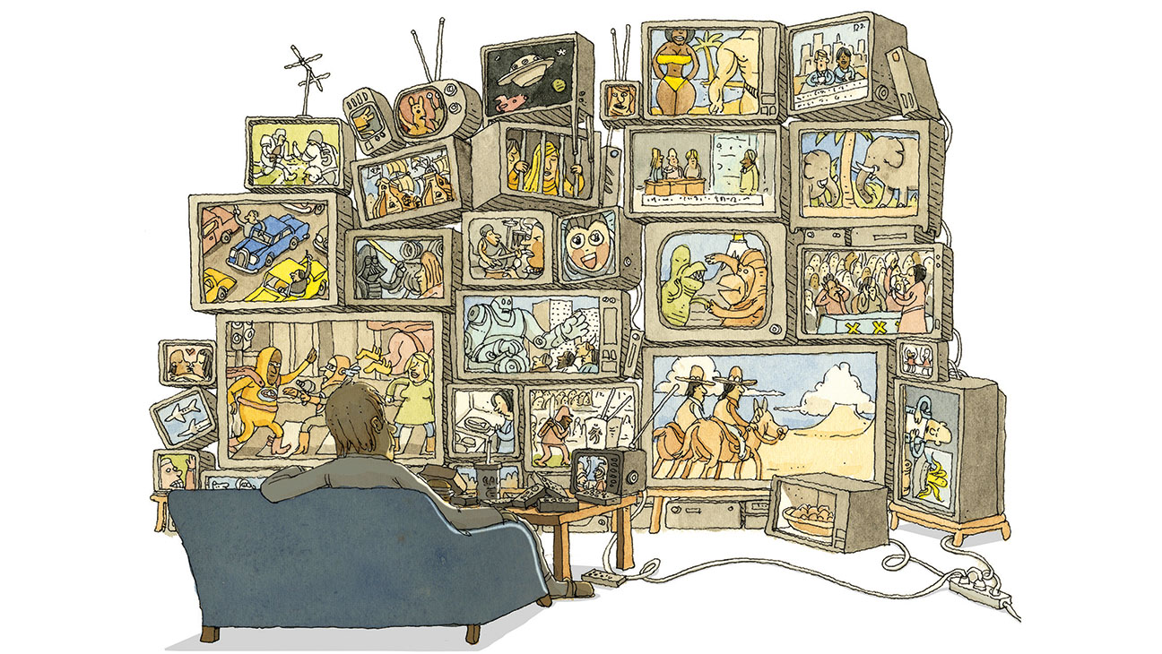 Too Much TV Illo - H 2015