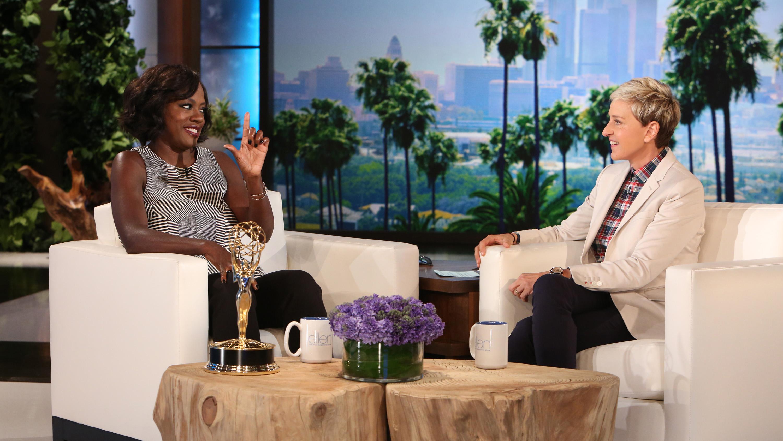 Viola Davis Ellen DeGeneres H 2015