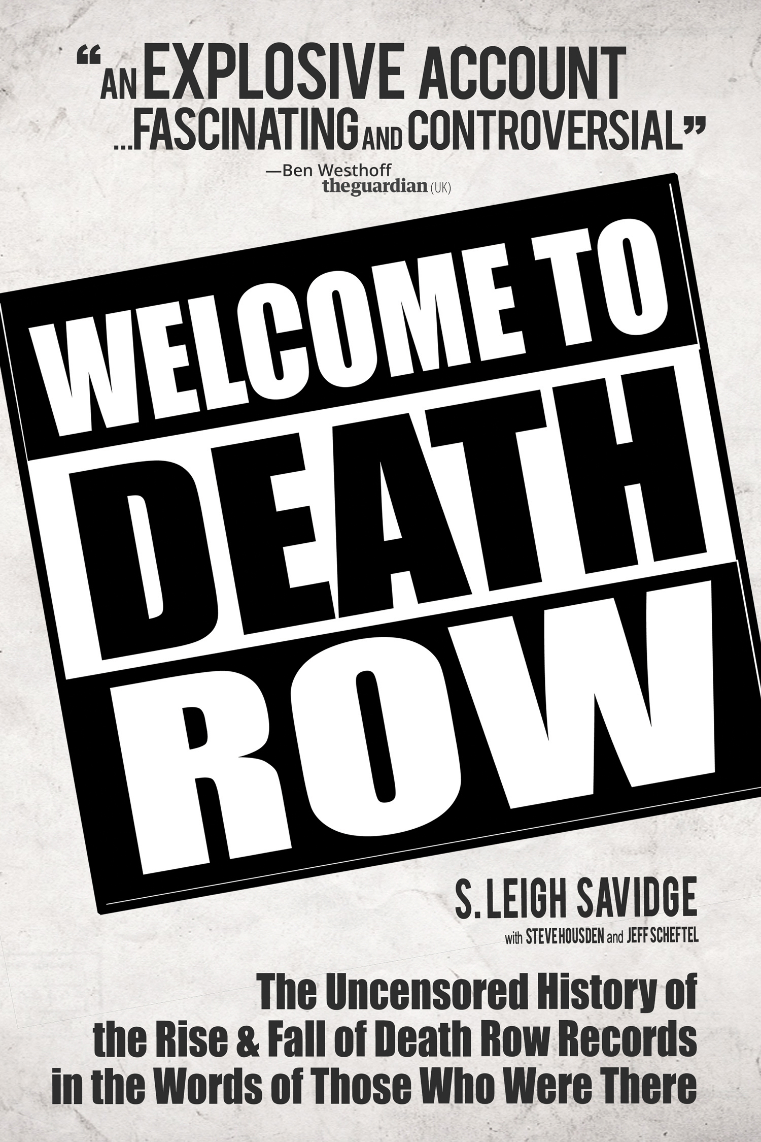 Welcome to Death Row Poster - P 2015