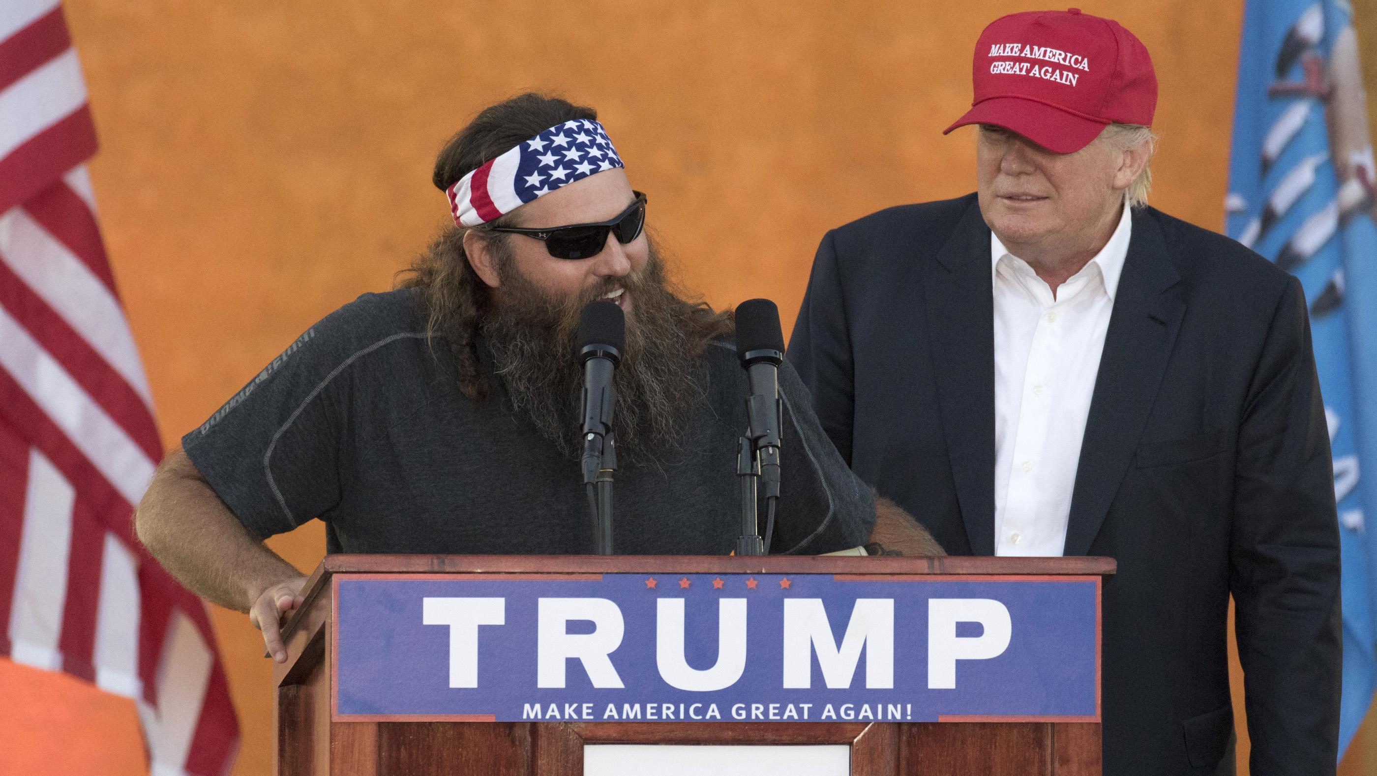 Willie Robertson Donald Trump - H