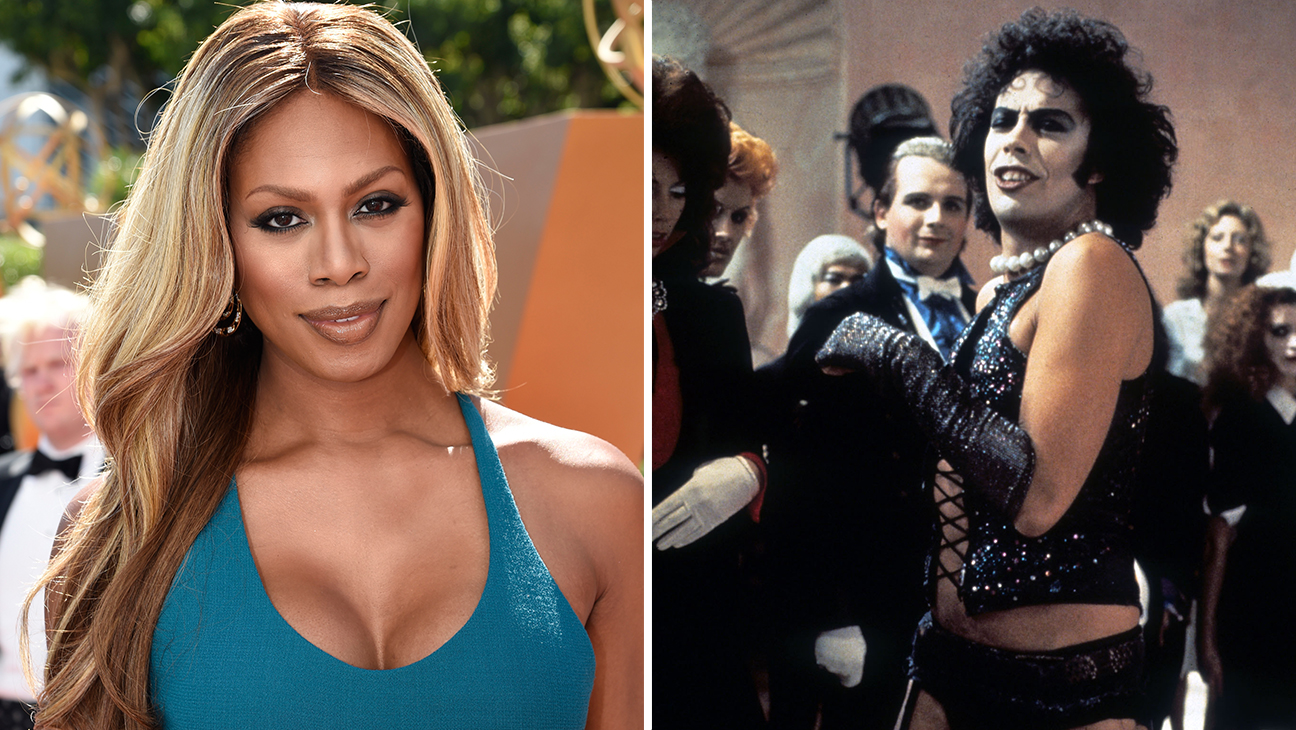 Laverne Cox and Tim Curry - H 2015