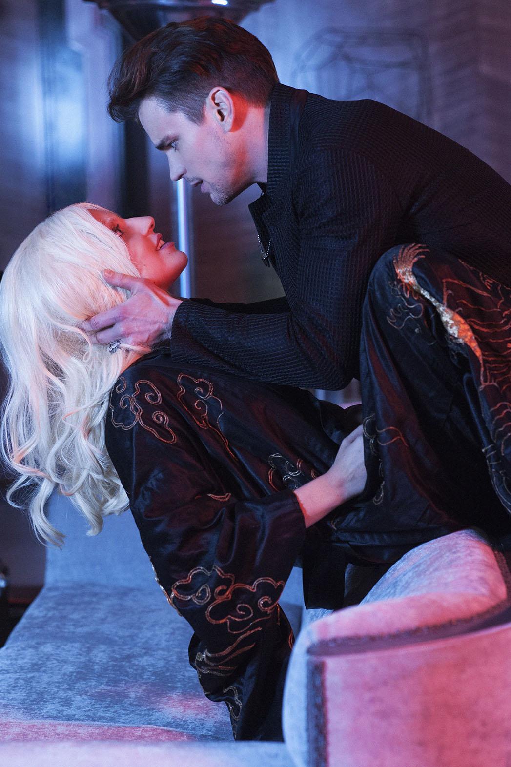 American Horror Story Hotel Lady Gaga Matt Bomer S05E02 Still - P 2015
