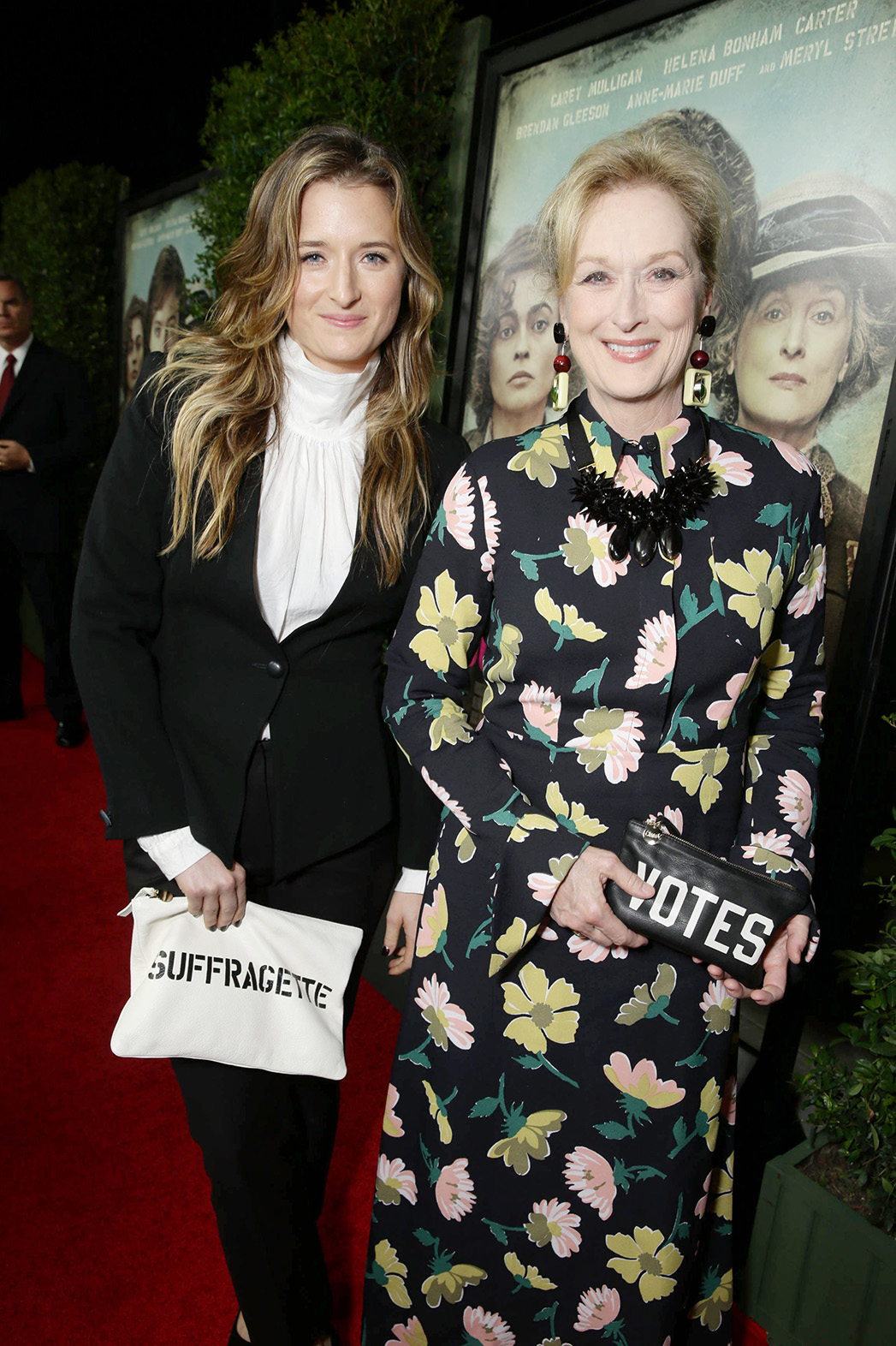 Grace Gummer and Meryl Streep - P 2015