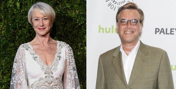 Helen Mirren, Aaron Sorkin Split H 2015