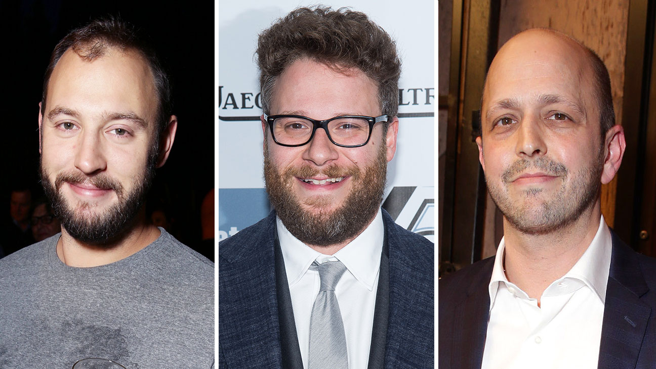 Evan Goldberg Seth Rogen Dan Sterling Split - H 2015