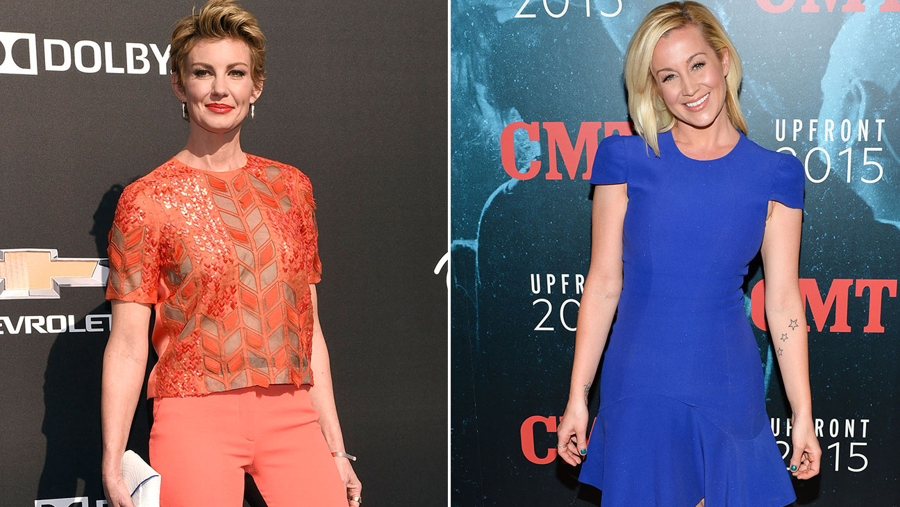 Failth Hill and Kellie Pickler Split