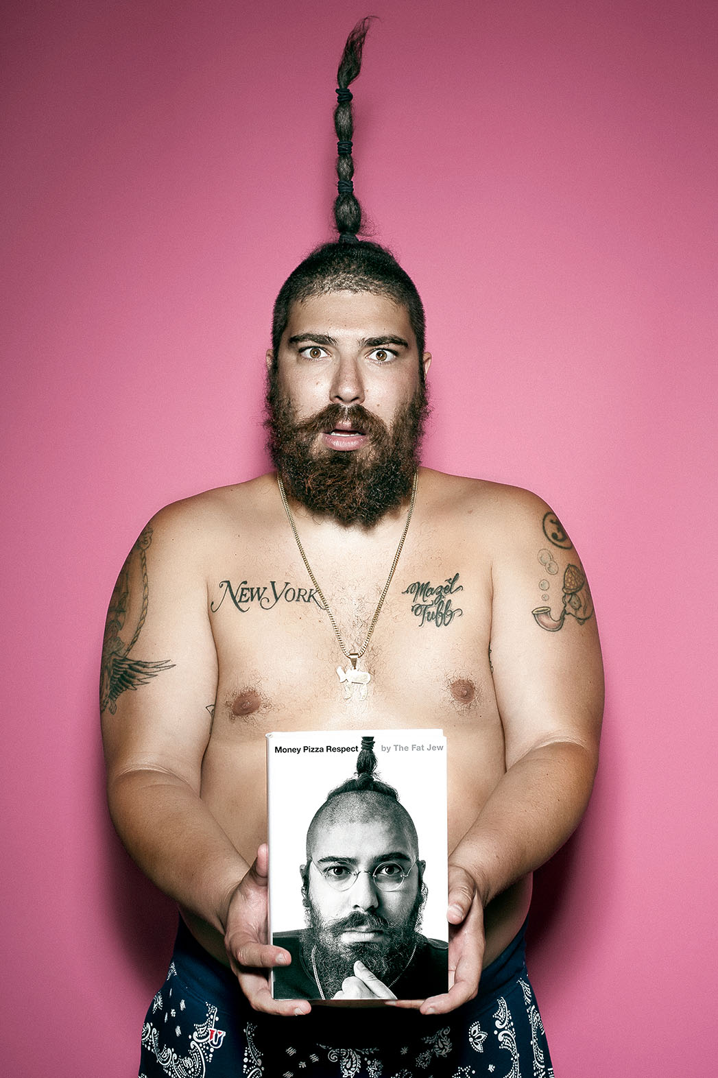 Money Pizza Respect Book By The FAT JEW - P 2015