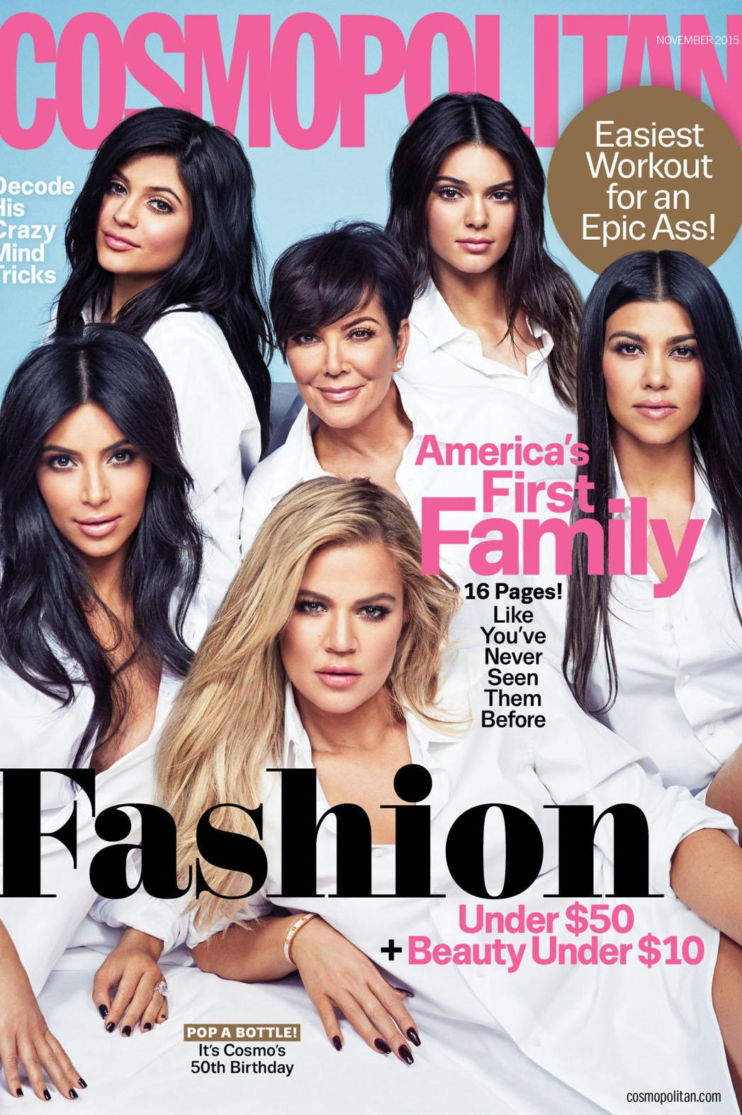 Kardashians Cosmo - P 2015
