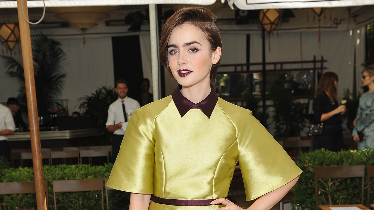 Lily Collins  - H 2015