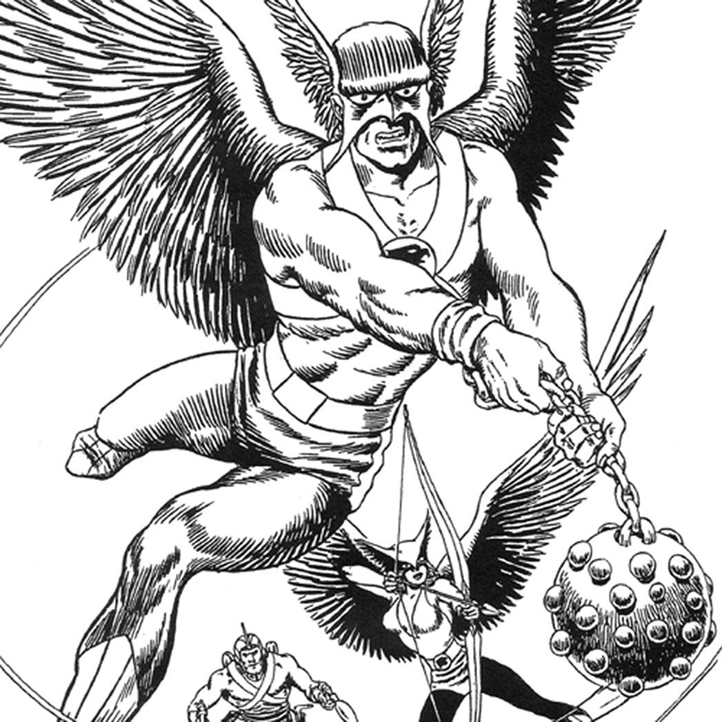 Hawkman Ink - S 2015