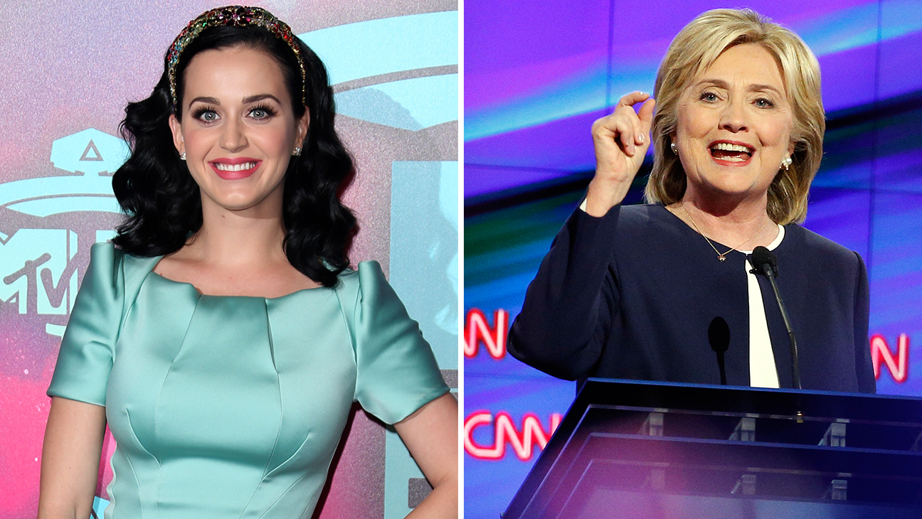 Katy Perry and Hillary Clinton - H 2015