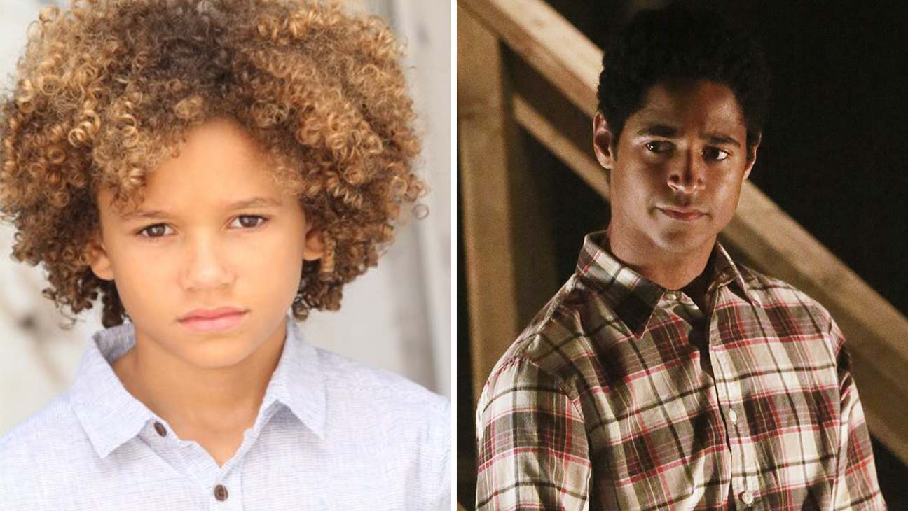 Armani Jackson and Alfred Enoch - H 2015