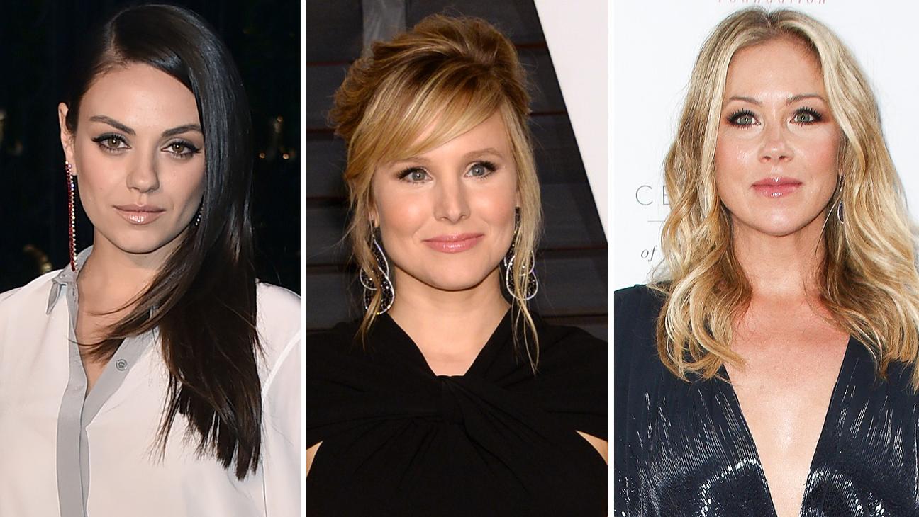 Mila Kunis, Kristen Bell and Christina Applegate - H 2015