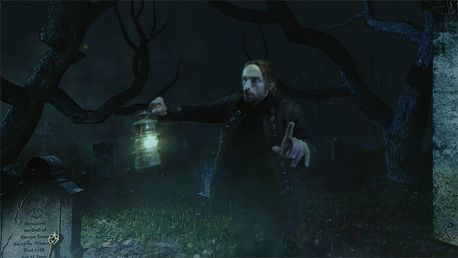 Inside the Sleepy Hollow VR experience Still 1 - H 2015