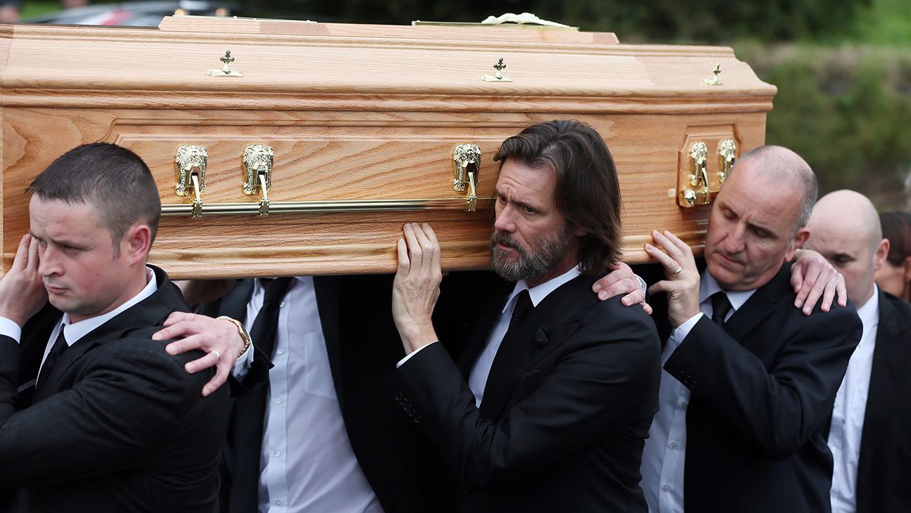 Jim Carrey Funeral - H